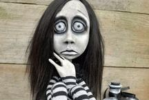 Amazing and scary dolls
