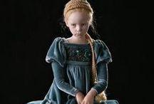 Dolls in period costumes
