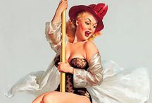 Pin-up / American style