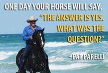 "Horse ""quotes"" / Horse quotes"