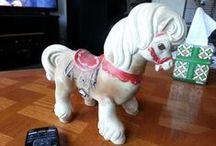 Horses, collectable / Horses, collectable, plastic, porcelain, metal, stone etc.