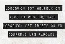 Phrases, citations, textes