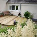 Wooden decking ideas / Creative, fun and unusual wooden decking ideas for the garden.