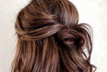 Beautiful Hair Woman / Haar, kapsels, lang haar, geverfd haar, haar tips