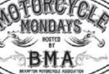 BMA Motorcycle Mondays / Show & Shine Monday nights starting in May in downtown Brampton...check Facebook Page - Motorcycle Mondays