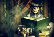 Steampunk Whimsy / Victorian Era meets Sci-Fi Imagination