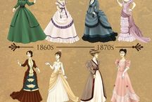 Crinolines & Coat-tails / Fashion Through Out the Victorian Era