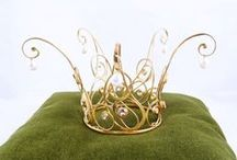 Crowns, tiaras and circlets