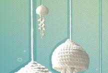 Crochet hyperbolic, ocean life