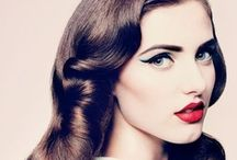 Vintage-inspired Hair / Check out these vintage inspired and retro hairstyles!