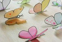 Fjäril / Butterfly / by Anna-Maria Sundberg