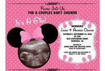 Baby Shower/Gender Reveal Ideas