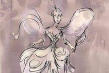 Costume Sketches / William Ivey Long's Tony Award-winning designs