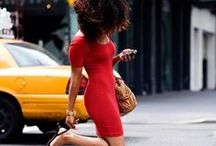 concrete CURLS / What's up in these streets! Look how gorgeous & fly these fashionable ladies are. Street style photography of women with naturally curly hair and natural hair.