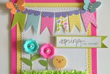 Sunny Springtime Cards / Spring and Easter Cards