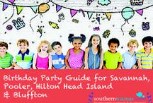 Savannah Children's Birthday Party Themes & Venues / Creative, fun children's birthday options and venues in the Greater Savannah, Ga. area