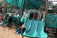 """Best Playgrounds in Savannah, Ga.; Hilton Head Is., Beaufort, S.C. / Spend the day """"playground hopping,"""" visiting some of our top picks for playgrounds in the Greater Savannah, Ga. area & Hilton Head Is./Beaufort, S.C. area"""
