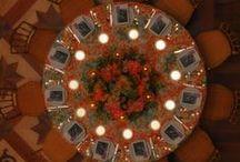 Mise en place & Table settings / Le disposizioni più originali ed eleganti per delle tavole d'ideazione e d'autore.