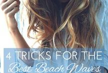 Hair Tips & Tricks / A collection of hair tips and tricks from how to make your curls last to which brush is best.