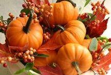 Fall / Autumn Home Decor / Fall decorating ideas, inspiration, and Diy