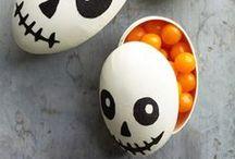 Halloween Ideas / Creepy crawly treats and other ideas.