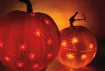 Pumpkin Carving Inspirations / Ideas for pumpkin designs and carving tips