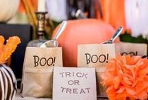 Halloween Decorating Ideas & Inspriations / Here's a great collection of ideas on some spooky Halloween decorations around your home.