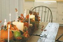 Thanksgiving Centerpiece & Table Decorating Ideas/Inspirations