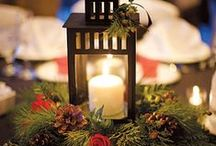 Centerpiece & Table Setting Ideas/Inspirations / A dazzling collection of ideas and inspirations to help you set and decorate your table for any event.  Find tips for centerpieces, candles, place settings, place cards, and more.