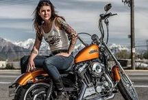Photo ideas - Biker girls