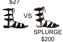 Save VS Splurge / save vs splurge. Get the most for your money and save on similar products