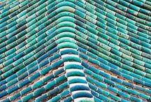 Kleurinspriratie: Turkoois / De kleur turkoois is een van den mooiste kleuren om sieraden mee te maken. Het is een intense kleur die bij heel veel outfits past.