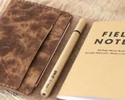 Field Notes Leather Cover / Useful Field Notes wallet
