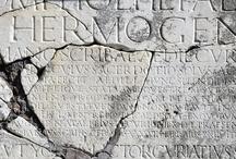 Latin inscriptions