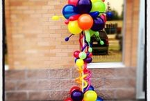 Balloon Topiaries  / by Rochelle Price ~ Balloon Events Melbourne