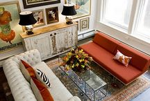 Living areas / by Joanna Desgranges