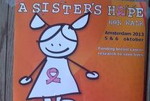 A Sister's Hope / Foundation raising money for breast cancer research. www.asistershope.org breastcancer challenge yourself