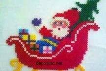 HAMA Christmas - strijkkralen kerst