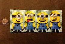 HAMA Minion - strijkkralen Minions