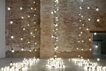 Festoon/Bistro Lighting for Weddings / Ideas and Inspiration for Unique Lighting for Weddings