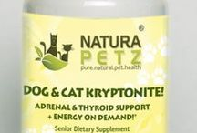 Dog & Cat Kryptonite  / Dog & Cat Kryptonite is used holistically as an energizer & nutritive to balance the endocrine system; (we like to think of it as having super powers!); to support the adrenal, thyroid & pineal glands; to treat thyroid & glandular dysfunction; as an adjunctive for Cushing's disease (also called hyperadrenocorticism and sometimes referred to as hyperthyroidism); including Pituitary-dependent hyperadrenocorticism (PDH) and Adrenal-dependent hyperadrenocorticism (ADH).