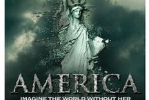 MLI Design: AMERICA - The Movie / Brand and marketing pieces by MLi Design, for the new Dinesh D'Souza film, AMERICA: Imagine the World Without Her.  Now Playing in theaters across the country... http://www.AmericaTheMovie.com
