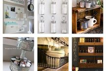 ORGANIZING -- HOME & OFFICE / Organizing ideas for home & office, including before & afters.