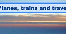 Airlines, trains and other ways of getting around / This is a travel board with pictures and articles of flying the airlines, the best flights, train travel, bus trips, road trips and other modes of transportation.