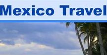 Mexico Travel / If you're traveling to Mexico here are some great travel ideas, destination pictures and inspiring ideas for your fabulous Mexican adventure. Think culture, cuisine, beaches and art.