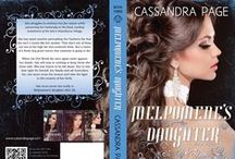 My book covers / The book covers of books by Cassandra Page and her naughty alter ego, Tammy Calder.