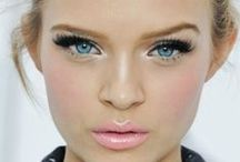 MAKE UP FOR EVERYDAY WEAR / My everyday make up styles. Bold lashes, nude lips.