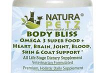 Body Bliss / OMEGA 3 Super Food + Heart, Brain, Joint, Blood, Skin & Coat Suppor