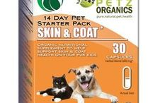Skin & Coat Starter Pack for Dogs and Cats / Super food, super berry, antioxidant, free radical scavenging multi-vitamin & multi-mineral nutritional power house for your dog and cat  Nutritive content may help nourish all body systems and help feed and revitalize skin & coat  Nutrition may protect bone, eye, teeth, joint, ligaments and connective tissue health throughout the body  Nutrients may have stimulate collagen production and reinforce bone formation in body