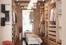 Ideas: Vestidores / Inspiración en vestidores, para que tengas tu ropa de Brands Society en orden ;) ¿Quién no quiere uno?